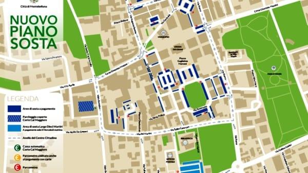 Parcheggi a Montebelluna con Abaco